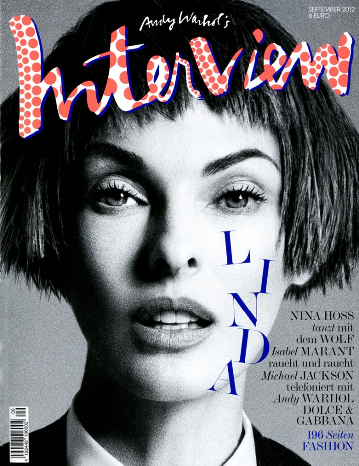 Linda Evangelista for Interview Germany, ph. Daniela Duella & Iango Henzi