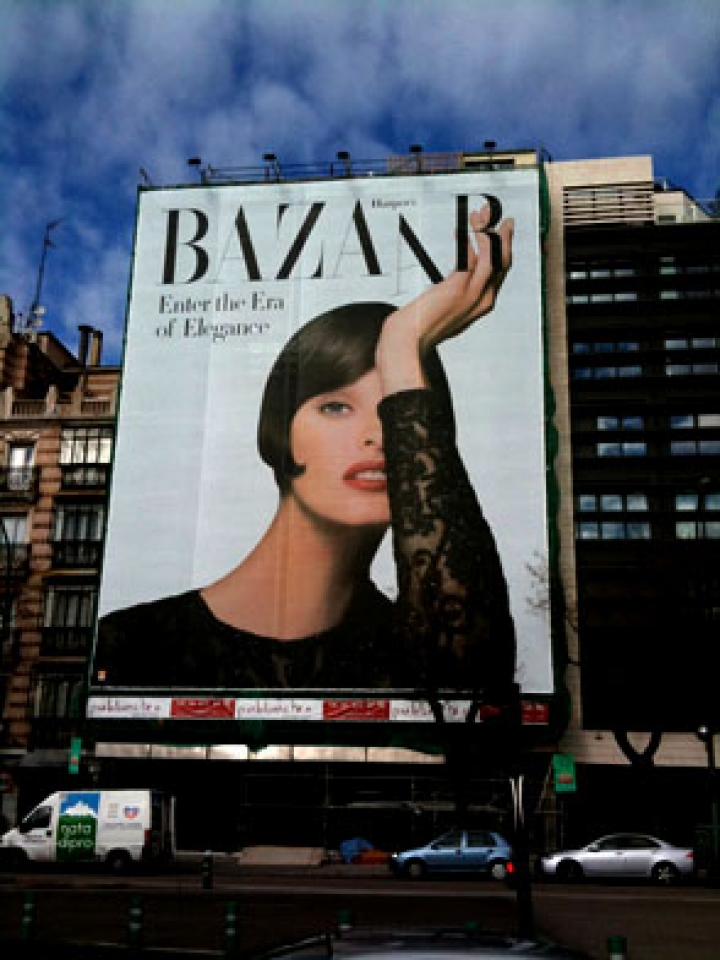 Harper's Bazaar Spain advertising campaign, Madrid, Spain